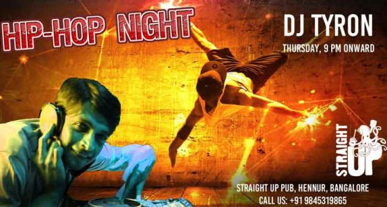 Events artwork for Straight Up Pub