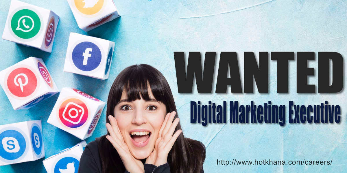 Hot Shot Digital Marketing Executive Wanted Image 1