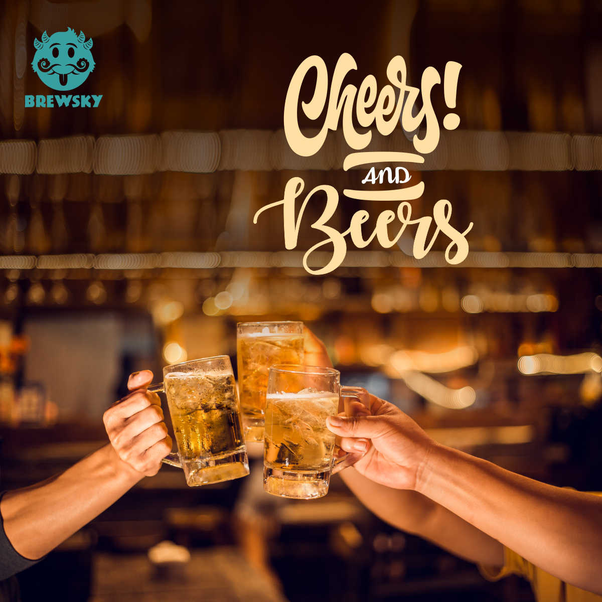 Brewsky Cheers artwork